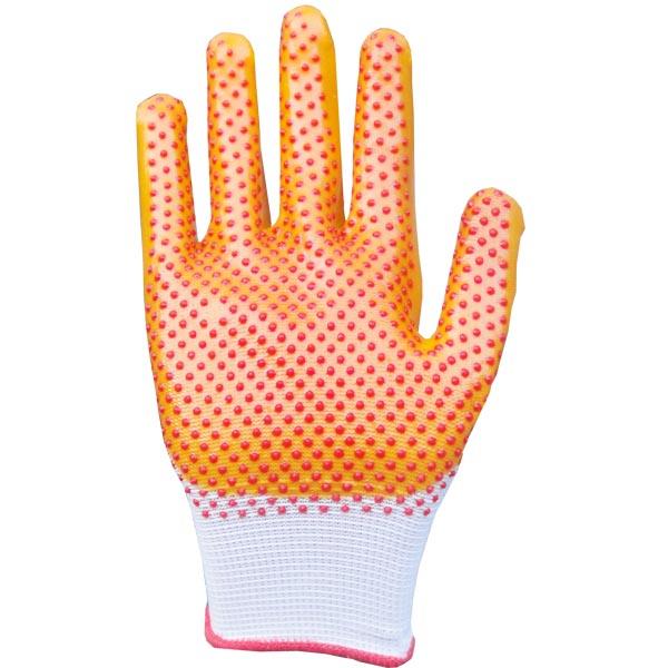 尼龙点珠PVC防滑手套