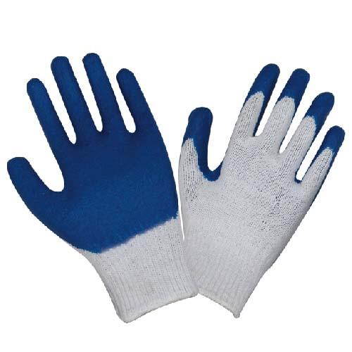 乳胶棉纱浸胶手套