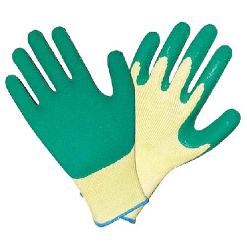 10针掌浸乳胶手套