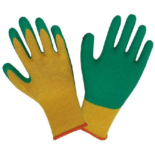 纱线乳胶起皱手套
