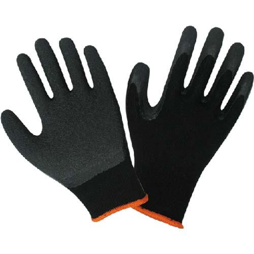 皱纹乳胶涂层手套