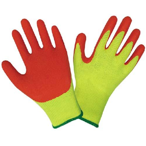 十针棉纱乳胶手套