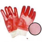 白色绒布罗口红色PVC全浸万博网页版地址