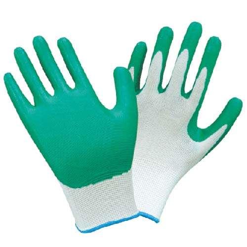 13针尼龙丁腈手套