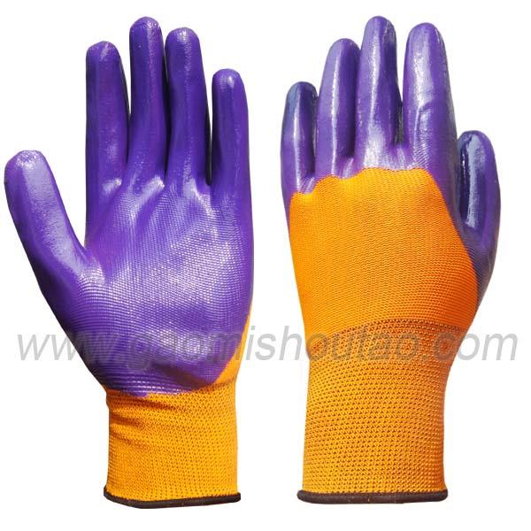 丁腈半浸胶手套